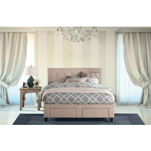 Hillsdale Furniture Duggan Footboard Storage Bed King Size