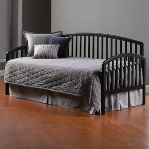 Hillsdale Furniture Carolina Daybed in Black