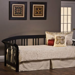 Hillsdale Furniture Dorchester Daybed in Black