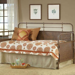 Hillsdale Furniture Kensington Daybed in Old Rust