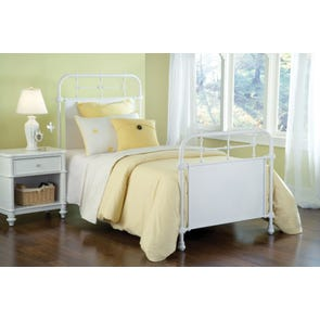 Hillsdale Furniture Kensington Headboard in Textured White Twin Size