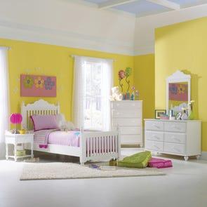 Hillsdale Furniture Lauren Post 5 Piece Bedroom Group