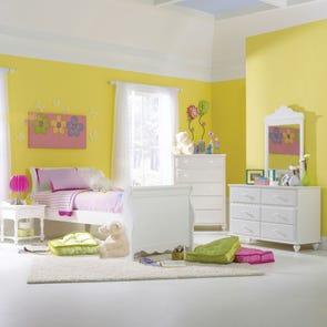 Hillsdale Furniture Lauren Sleigh 5 Piece Bedroom Group