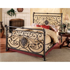 Hillsdale Furniture Mercer Complete Bed Queen Size
