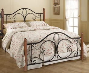 Hillsdale Furniture Milwaukee Wood Post Bed Queen Size