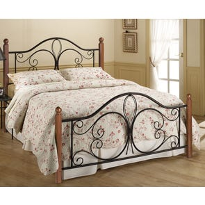 Hillsdale Furniture Milwaukee Wood Post Bed King Size