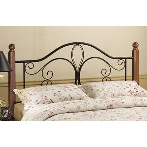 Hillsdale Furniture Milwaukee Wood Post Headboard Twin Size