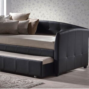 Hillsdale Furniture Napoli Daybed in Brown with FREE Trundle