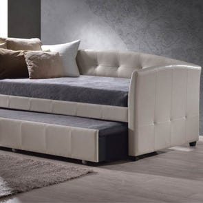 Hillsdale Furniture Napoli Daybed in Ivory with FREE Trundle