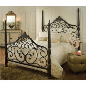 Hillsdale Furniture Parkwood Complete Bed Queen Size