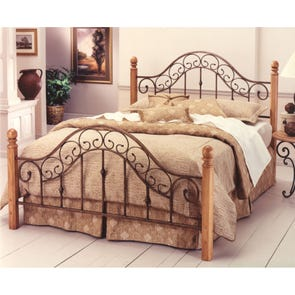 Hillsdale Furniture San Marco Complete Bed King Size