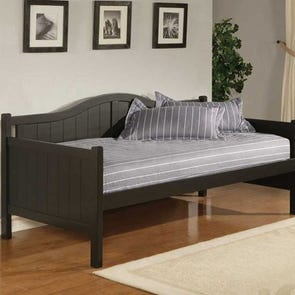 Hillsdale Furniture Staci in Black Daybed with FREE Trundle