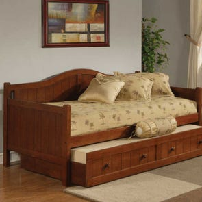 Hillsdale Furniture Staci Daybed in Cherry with FREE Trundle