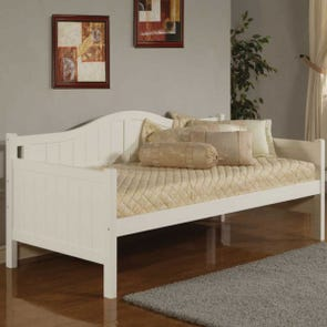 Hillsdale Furniture Staci Daybed in White with FREE Trundle
