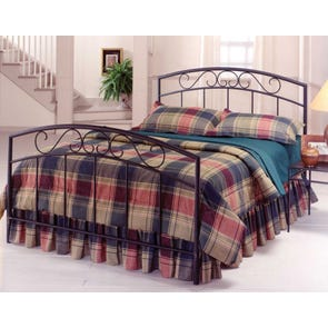 Hillsdale Furniture Wendell Bed in Textured Black Queen Size