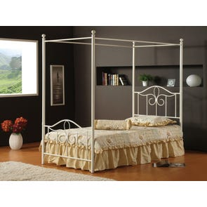 Hillsdale Furniture Westfield Canopy Bed Twin Size