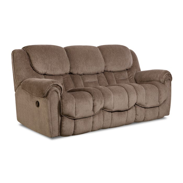 Tremendous Homestretch Del Mar Reclining Sofa In Taupe Evergreenethics Interior Chair Design Evergreenethicsorg