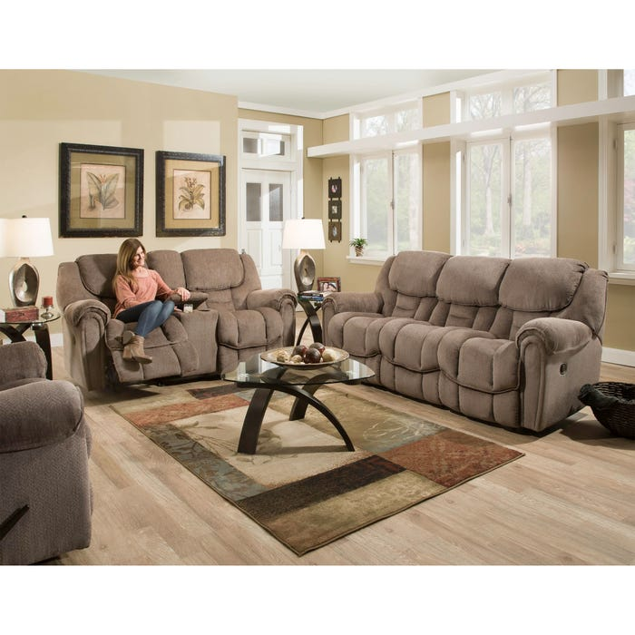 Magnificent Homestretch Del Mar Reclining Sofa In Taupe Evergreenethics Interior Chair Design Evergreenethicsorg