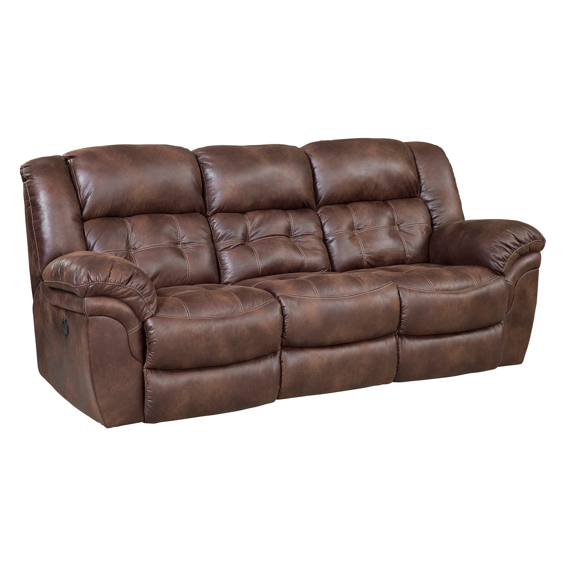 Homestretch Frontier Reclining Sofa In Espresso