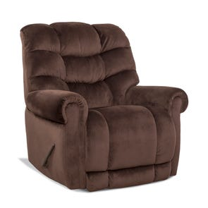 HomeStretch Tank Big & Tall Xtreme Power Wall Saver Recliner in Espresso
