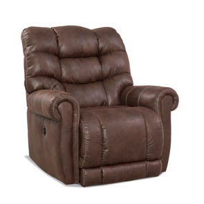 HomeStretch Tank Big & Tall Xtreme Wall Saver Recliner in Sable
