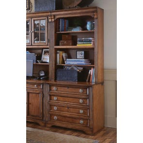 Hooker Furniture Brookhaven Lateral File and Hutch