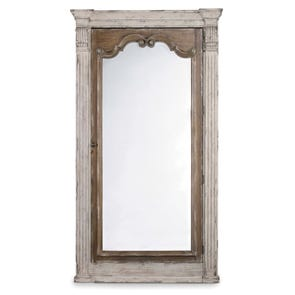 Bernhardt Salon Silver Leaf Mirror