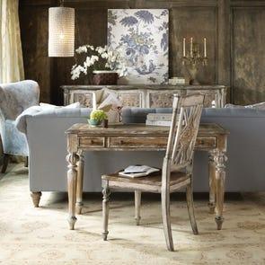 Hooker Furniture Chatelet Writing Desk in Light Brown