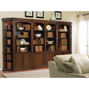 Hooker Furniture Cherry Creek Bookcase Wall