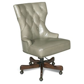 Hooker Furniture Executive Desk Chair in Al Fresco Baca Silver Grey