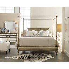 Hooker Furniture Melange Montage King Size Poster Bed