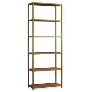 Hooker Furniture Studio 7H NYPL Tall Metal Bookcase