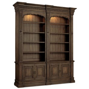 Hooker Furniture Rhapsody Double Bookcase