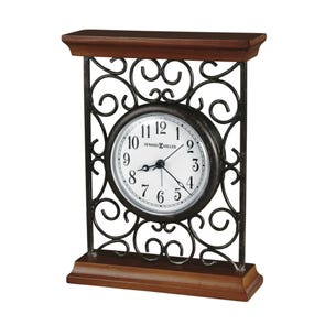 Howard Miller World Time Arch Table Clock