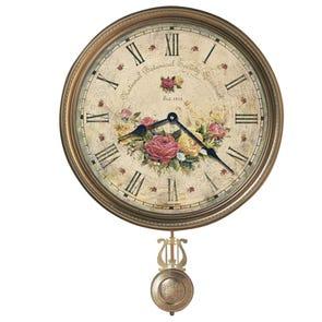 Howard Miller Savannah Botanical Society VI Wall Clock