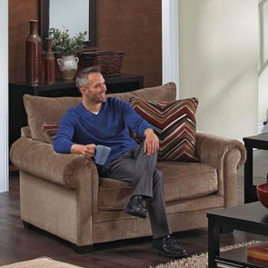 Jackson Anniston Chair in Saddle