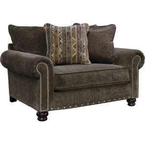 Jackson Avery Chair and Half in Tiger's Eye