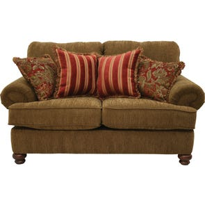 Jackson Belmont Loveseat in Umber