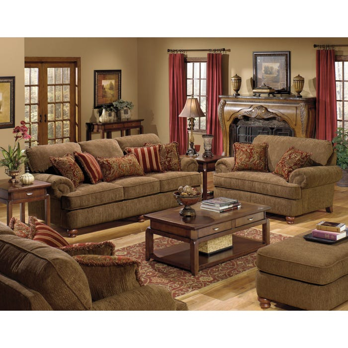 Miraculous Jackson Belmont Loveseat In Umber Gmtry Best Dining Table And Chair Ideas Images Gmtryco