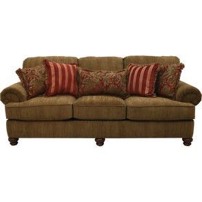 Jackson Belmont Sofa in Umber