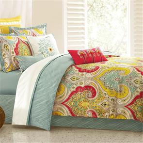 Echo Design Jaipur Queen Comforter Set in Multi by JLA Home