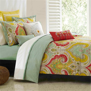 Echo Design Jaipur Twin Duvet Mini Set in Multi by JLA Home