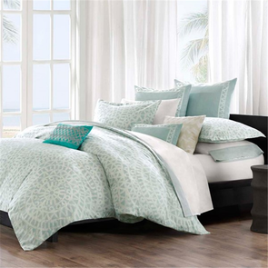Echo Design Mykonos Twin Duvet Cover Set in Multi by JLA Home