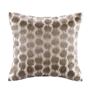 Echo Design Odyssey Square Pillow in Brown by JLA Home