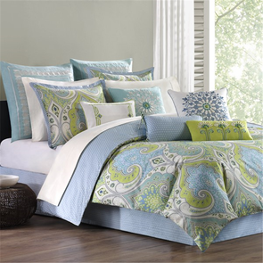 Echo Design Sardinia Queen Comforter Set in Multi by JLA Home