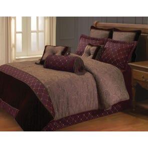 Hallmart Oppulent Comforter Set