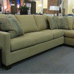 Clearance King Hickory Darby Sectional OVFCR081818