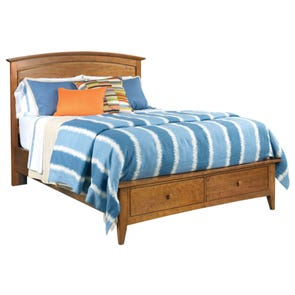 Kincaid Gatherings Arch Storage Bed in Honey