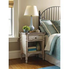 Kincaid Weatherford Open Nightstand in Cornsilk