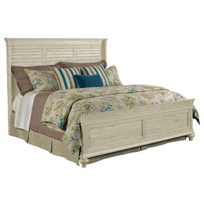 Kincaid Weatherford Shelter Bed in Cornsilk